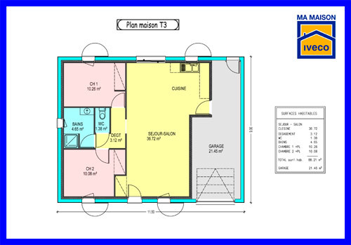 Plan De Maison 110m2 Placecalledgrace Com Plans En L A1groupco 3