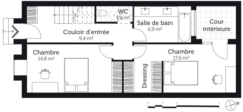 Plan De Maison 110m2 Plans En L Placecalledgrace Com A1group Co