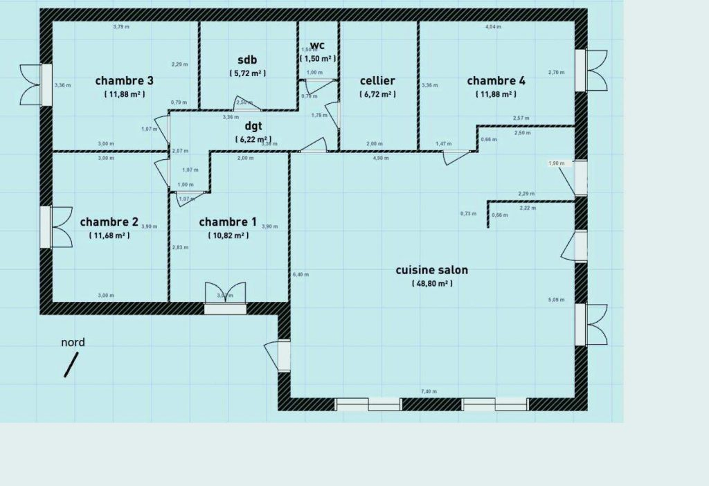 Plan De Maison 110m2 Plans En L Placecalledgrace Com Conception