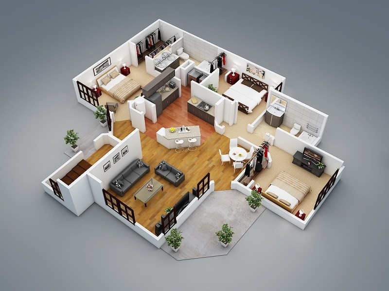 Plan De Maison 3d En Ligne Gratuit Homewreckr Co A1group
