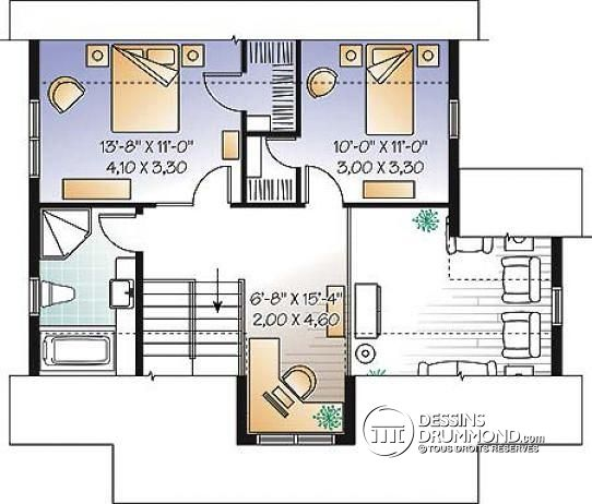 Plan De Maison Contemporaine Avec Mezzanine 1 Plans Pinterest 24
