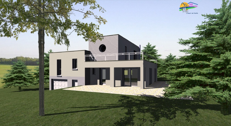 Plan De Maison Contemporaine Gratuit Luxe Plain