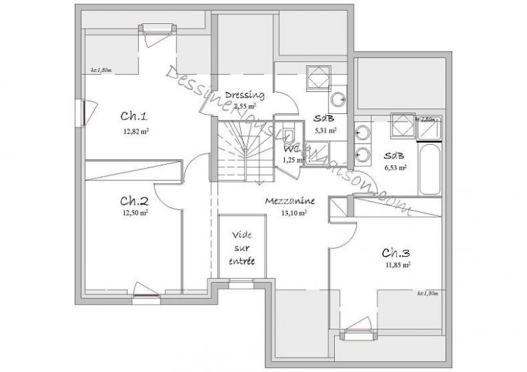 Plan De Maison D Architecte Gratuit Complet 10 Rectangle Plans