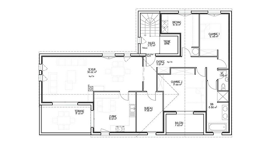 Plan De Maison D Architecte Gratuit Ipsita Co