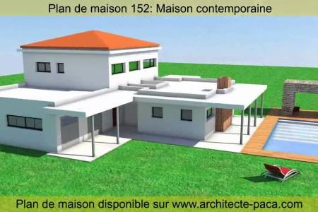 Plan De Maison D Architecte Gratuit Pdf Amazing Villa Good Faceto