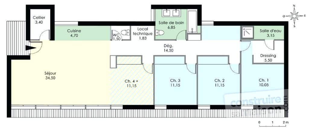 Plan De Maison Duplex Gratuit Pdf Awesome En Ideas Amazing House