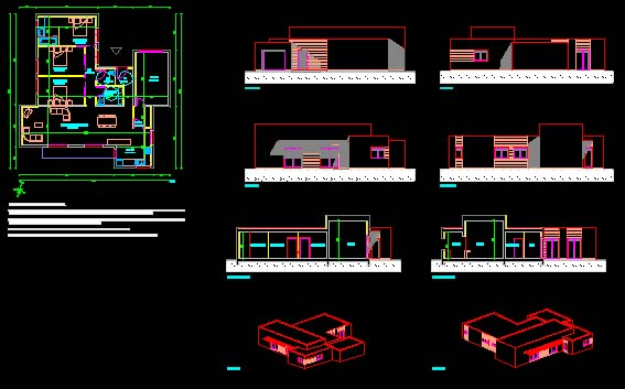 Plan De Maison Dwg Gratuit 12 Lzzy Co 9 Plans Gratuits Design