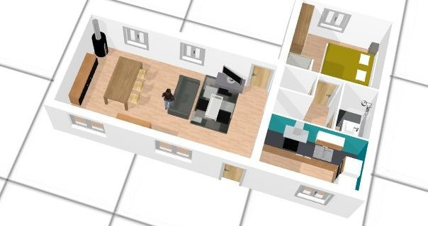 Plan De Maison En L Gratuit A1group Co