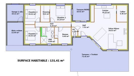Plan De Maison En Longueur A1group Co