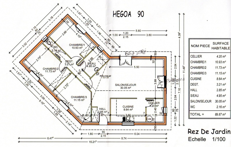 Plan De Maison En U Plain Pied Beautiful 18 Unique