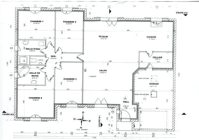 Plan De Maison Gratuit Pdf 3 Plans Lzzy Co 0 Moderne