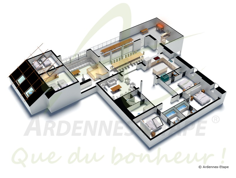 Plan De Maison Luxe Moderne Decoration