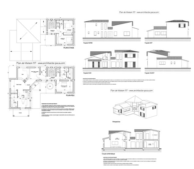 Plan De Maison Moderne D Architecte Gratuit Gallery Of