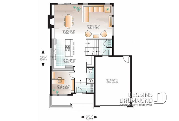 Plan De Maison Originale Us