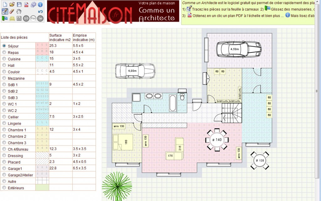 Plan De Maison Simple Architecte Gratuit Placecalledgrace Com Madame