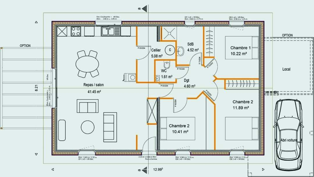 Plan De Maison Simple Construction 11 CONSTRUCTION 86 FR Plans