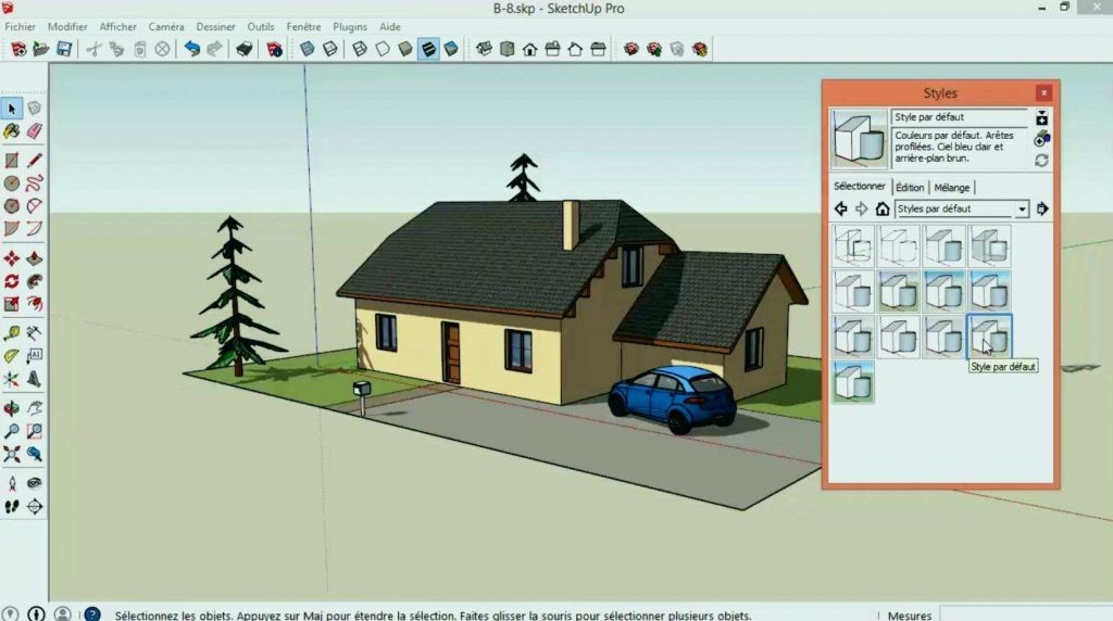 Plan De Maison Sketchup 90m2 Choosewell Co Ipsita