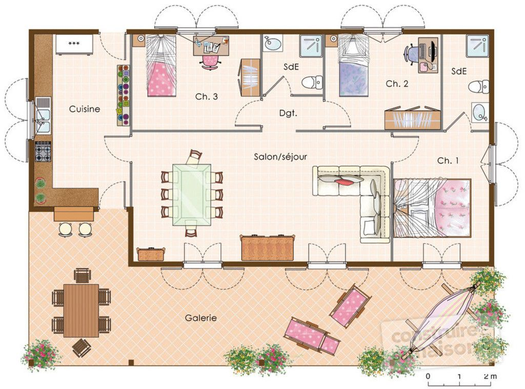 Plan De Maison Sketchup Masion Notivity Co