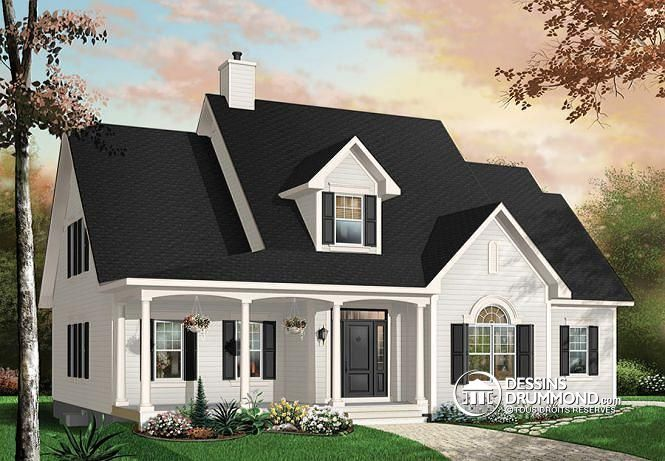 Plan De Maison Unifamiliale La Canadienne No 2637 Home Sweet