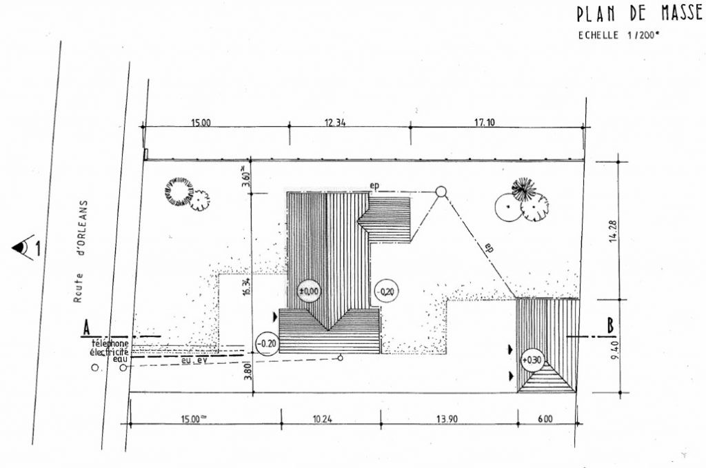 Plan De Masse D Une Maison 1 Facade Lzzy Co 6 A1group