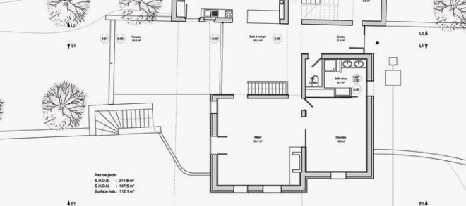 Plan De Masse Maison Lovely D Une 1 Facade Lzzy Co 6 Ipsitaco 3