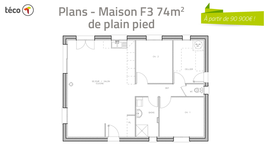 Plan F3 Maison Decorating