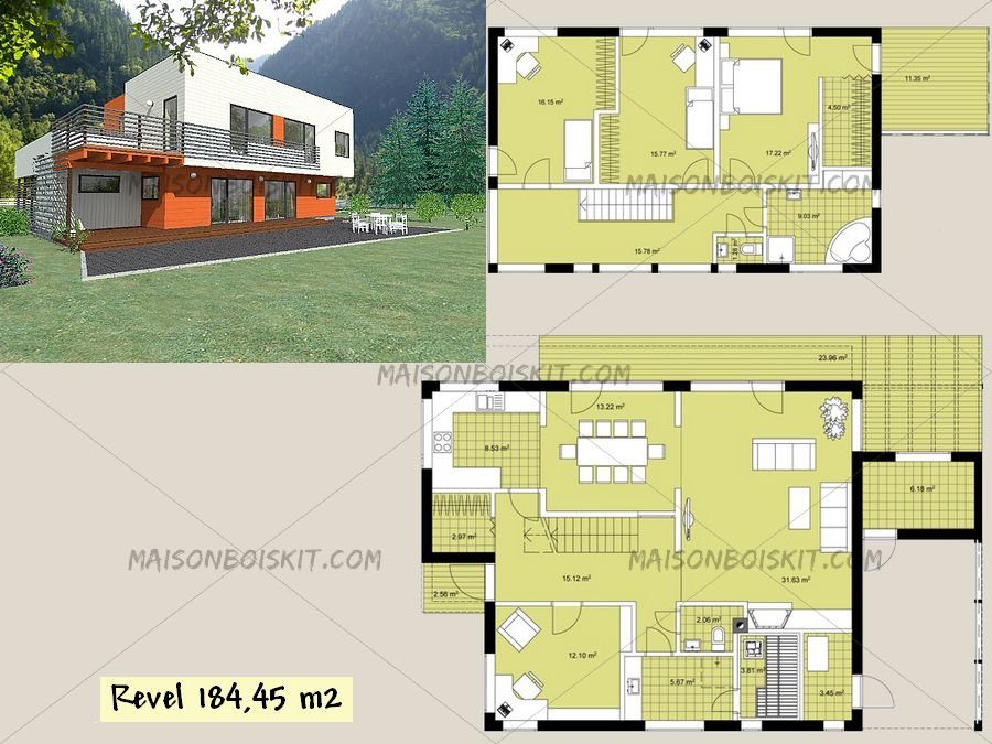 Plan Gratuit Maison Contemporaine Belle Logiciel Amenagement