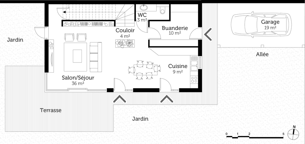 Plan Maison 00m2 2 Etages 3 Lzzy Co De Etage Newsindo A 8
