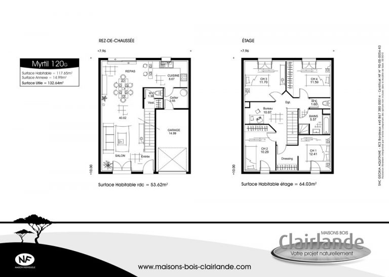 Plan Maison 100m2 Etage Choosewell Co De Rraf Info
