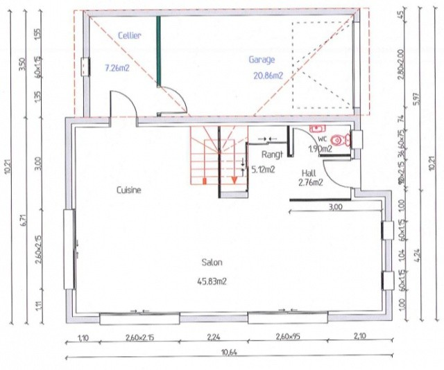 Plan Maison 110m2 Etage Avis Tage 56 Messages Davidreed Co