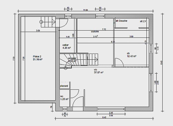 Plan Maison 110m2 Etage Impressionnant Plans Great Beds