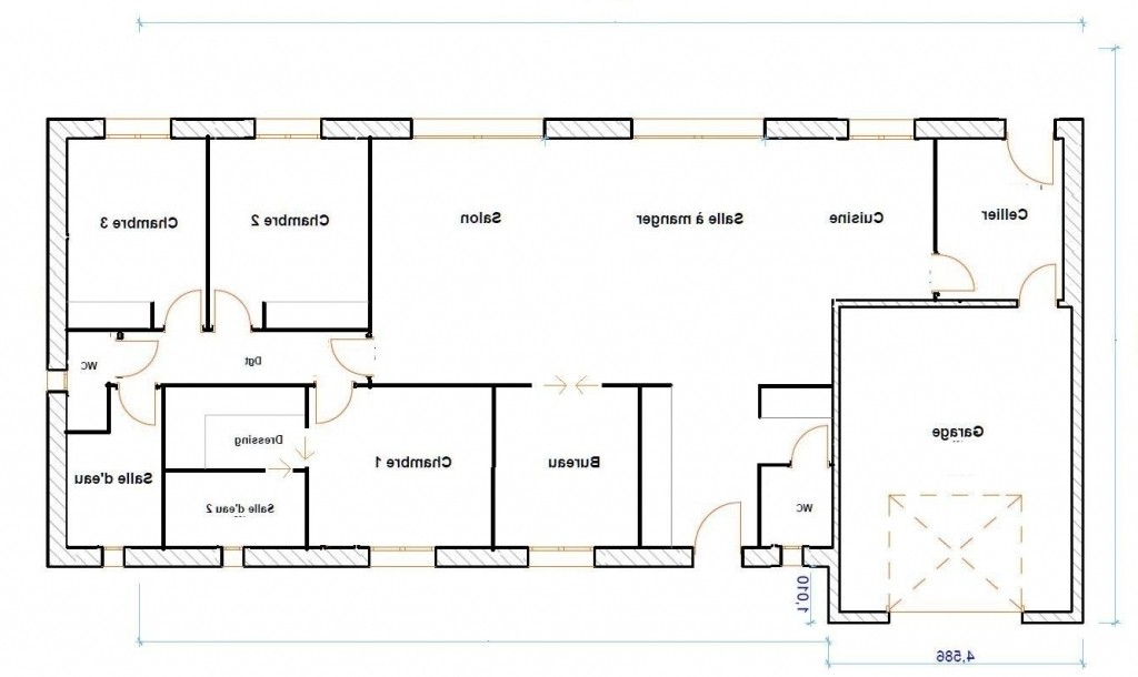 Plan Maison 170 M2 Plain Pied 150m2 Lzzy Co A1group
