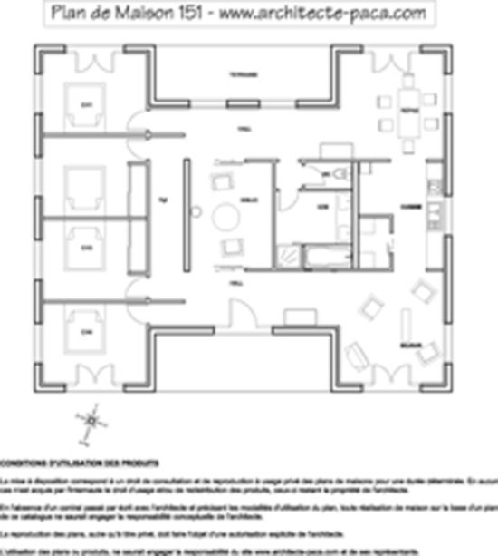 Plan Maison 5 Pieces Africaine Newsindo Co A1group