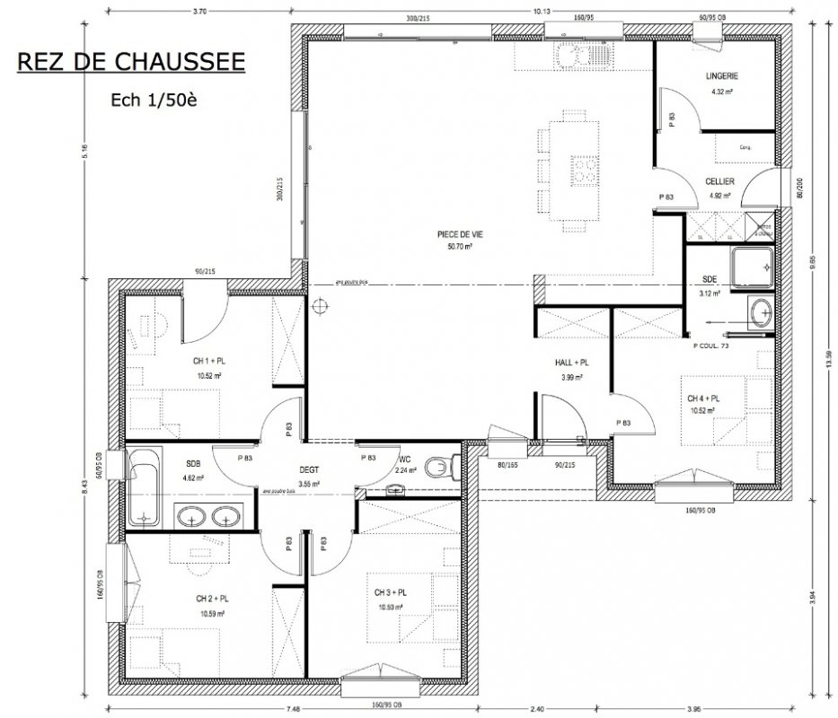 Plan Maison A Construire Newsindo Co De Construction 11