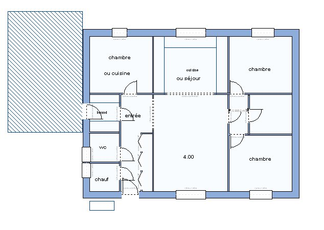 Plan Maison A Etage 100m2 Newsindo Co Modele De 3