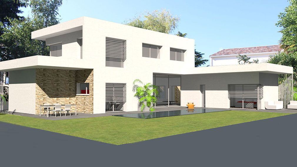Plan Maison Architecte Contemporaine Tage Avec