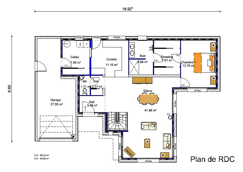 Plan Maison Avec Mezzanine A1group Co