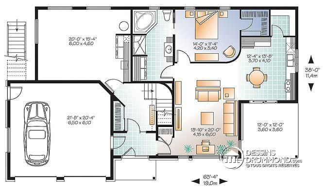 Plan Maison Complet Gratuit 10 De Rectangle Plans Maisons