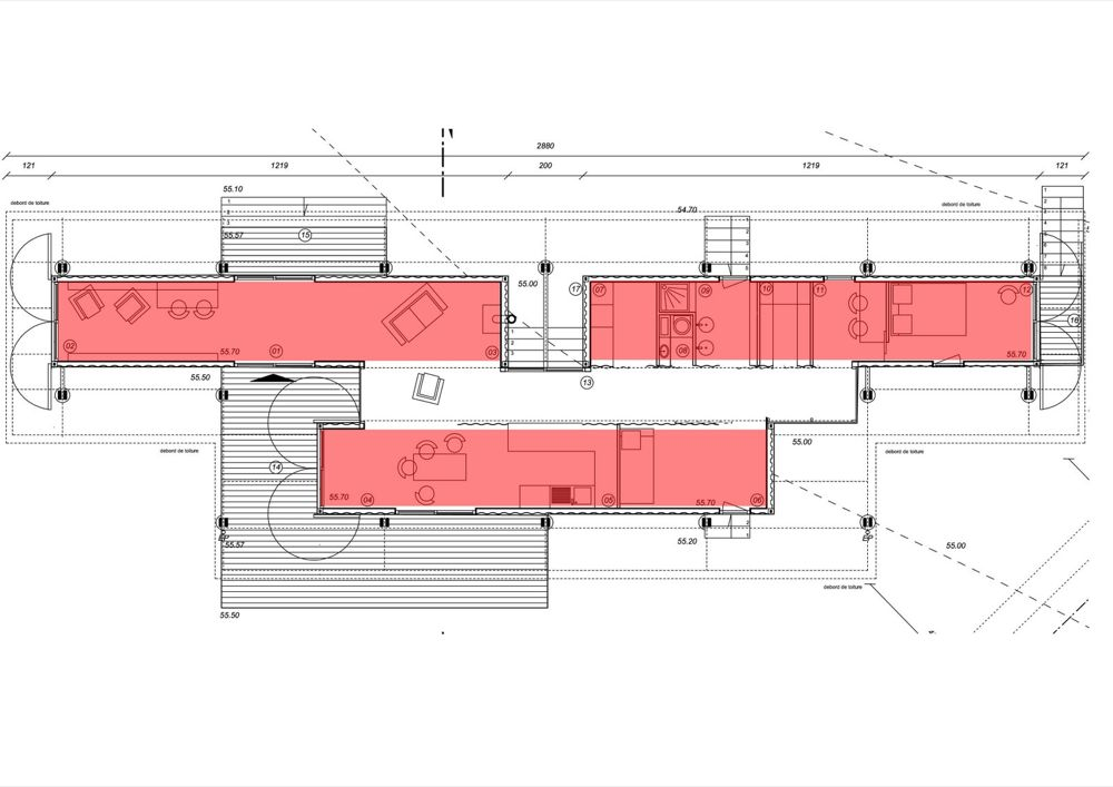Plan Maison Container Design Apsip Com Politify Us