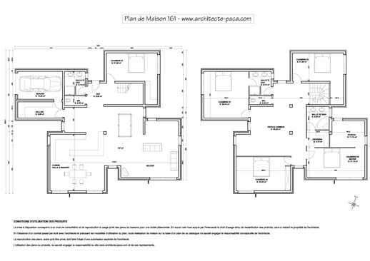Plan Maison Contemporaine Architecte Gratuit