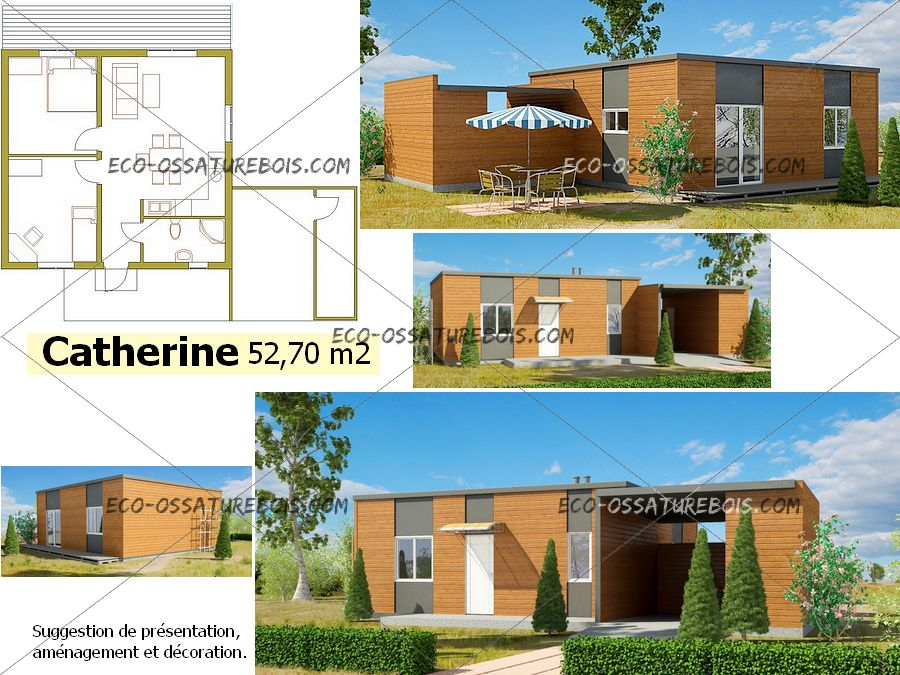 Plan Maison Contemporaine Basse Consommation Plans De
