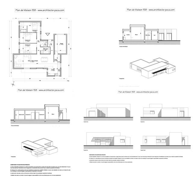 Plan Maison Contemporaine Gratuit Doped Co
