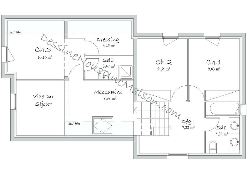 Plan Maison Contemporaine Gratuit Plans De Maisons