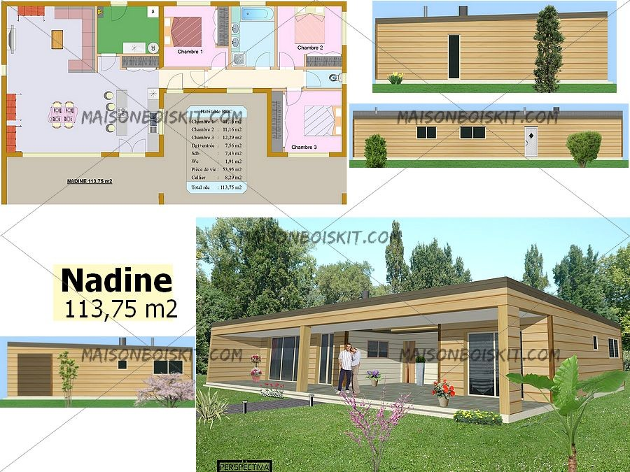Plan Maison Contemporaine Gratuit Plans De Maisons Contemporaines