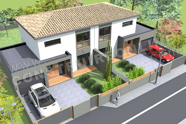 Plan Maison Contemporaine Simple Plans De Maisons Modernes Id Es