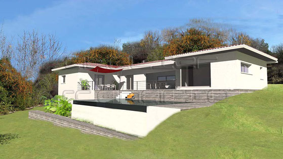 Plan Maison Contemporaine Terrain