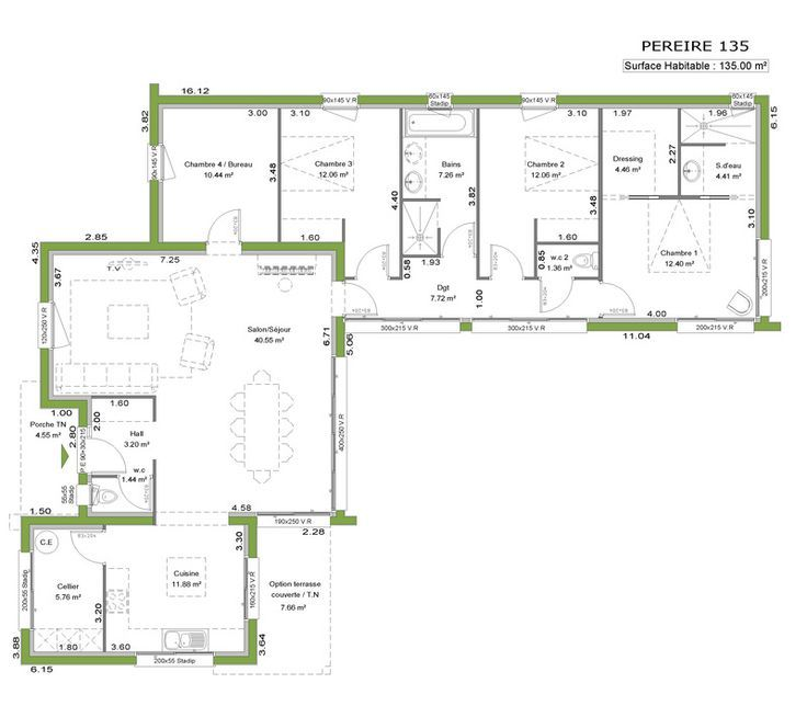 Plan Maison Contemporaine Toit Plat Ob25 Jornalagora Food