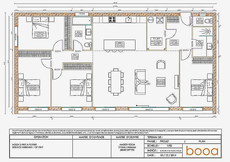 Plan Maison En Bois Best Of Booa Cologique Tr S