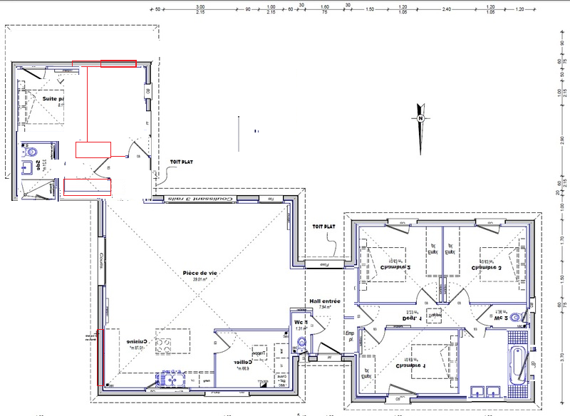 Plan Maison 100m2 Plein Pied 3 Chambres Download By ...