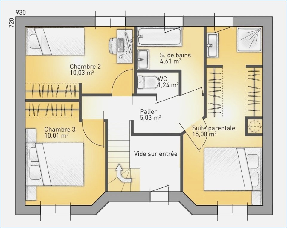 Plan Maison France Confort 0 Lzzy Co